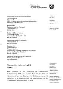 thumbnail of Förderrichtlinien Stadterneuerung 2008