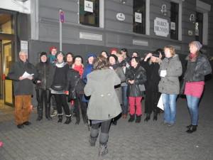 Chorgesänge auf dem Wilhelmsplatz 2014