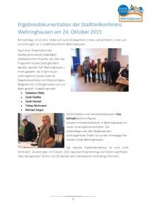 thumbnail of 15-10-24 Dokumentation 2. Stadtteilkonferenz Wehringhausen