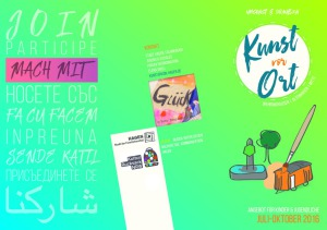 thumbnail of Flyer Kunst vor Ort